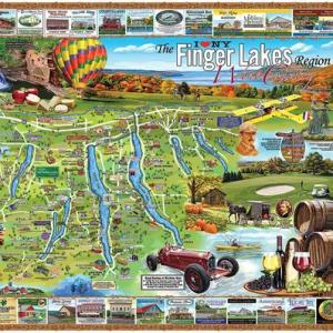 Finger Lakes 1000 pc.