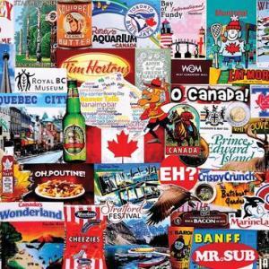 I Love Canada 1000 pc.