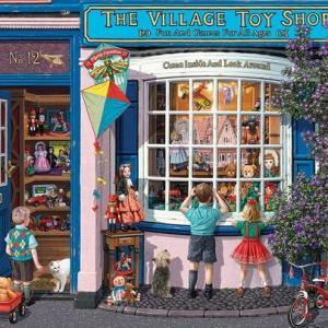 Village Toy Shop 1000 pc.
