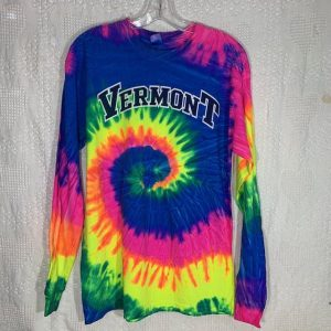 Vermont Tie Dye Long-Sleeve Shirt