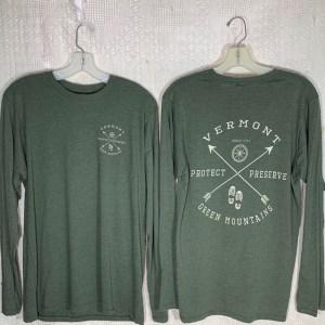 Vermont Green Mountain Arrows Long-Sleeve Shirt