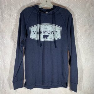 Vermont Hooded Long Sleeve Shirt