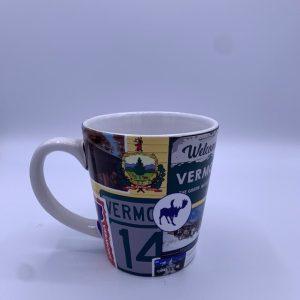 Vermont Collage Mug