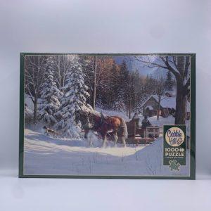 Sugar Shack Horses 1000 PC Puzzle