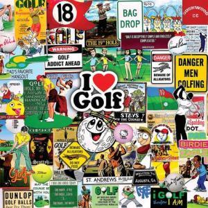 I Love Golf Puzzle 1000 pc.