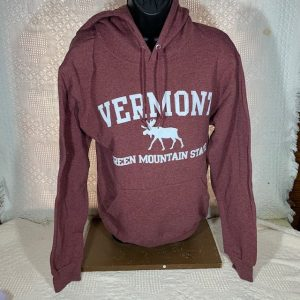 Vermont Green Mountain Moose Hooded Sweatshirt