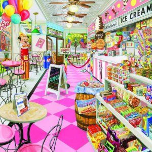 Ice Cream Parlor 1000 pc.