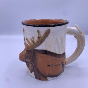 3D Vermont Moose Mug