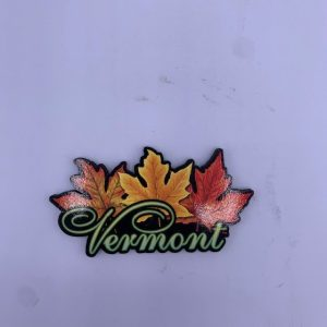 Vermont 3 Maple Leaves Magnet