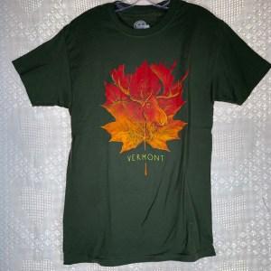 Vermont Moose Leaf T-Shirt