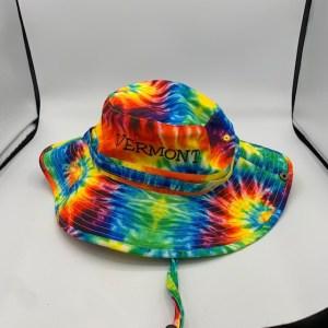 Vermont Tie Dye Bucket Hat