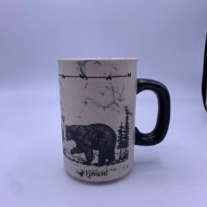 Vermont Ceramic Bear and Trees Mug