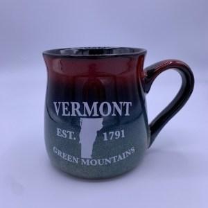 Vermont Green Mountains Gradient Mug – LARGE
