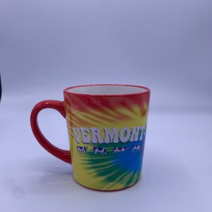 Vermont Tie Dye Mug