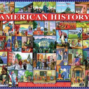 American History 1000 pc.
