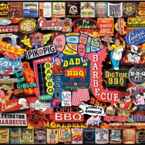 Barbeque Puzzle 1000 pc.