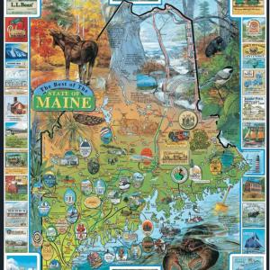 Best of Maine Puzzle 1000 pc.
