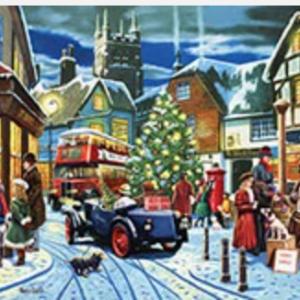 Christmas Village Puzzle 1000 pc.