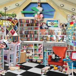 Craft Room Seek and Find Puzzle 1000 pc.