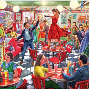 Dancing at the Diner Puzzle 1000 pc.