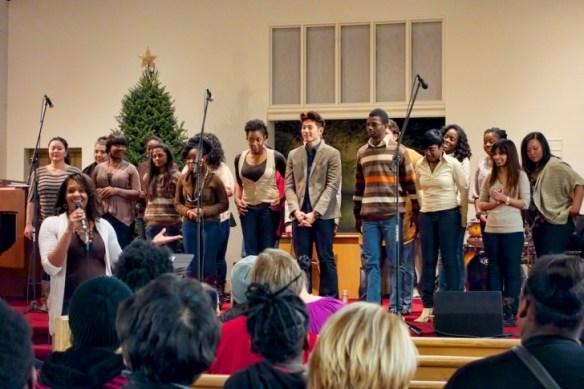 U of T Gospel Choir.
