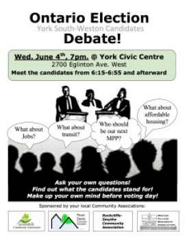 Ontario Election Debate poster v.5 final