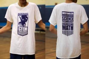 STEM t-shirts.