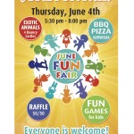 Weston Memorial JPS FUN FAIR  June 4th 2015