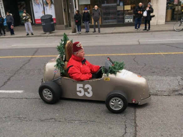 A Weston parade.