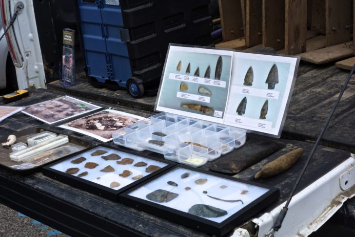 A sample of the range of artifacts discovered around Toronto.