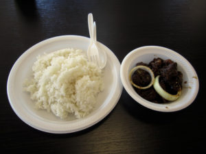 Combo #1 at Lutong Pinoy
