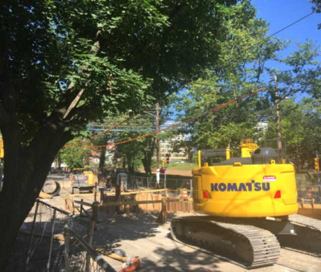 Its Been More Than A Week Since The Large Nearly Street Wide Sinkhole Opened Up At The Intersection Of 43rd Street And Baltimore Avenue As The Result Of A