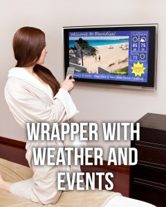 Wrappers on TV Screens