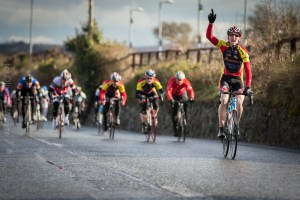 Sean O'Malley takes the A4 race - Photo by Oliver Whyte