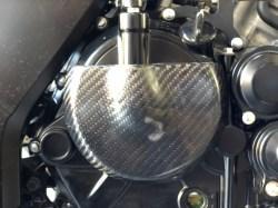 GSX-S125  クラッチ カーボン2次カバー