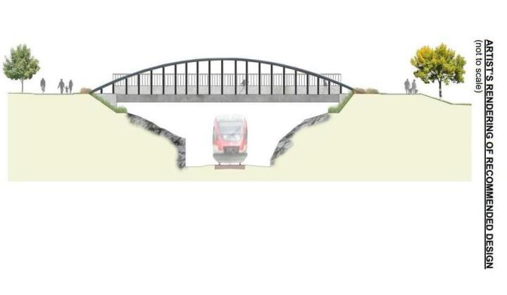 hickory bridge rendering