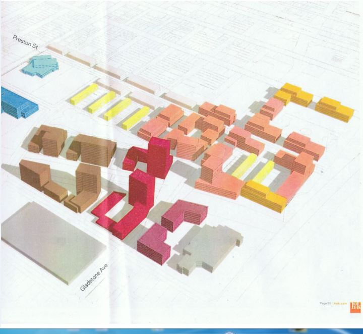 option 1, elevations, focus on the south