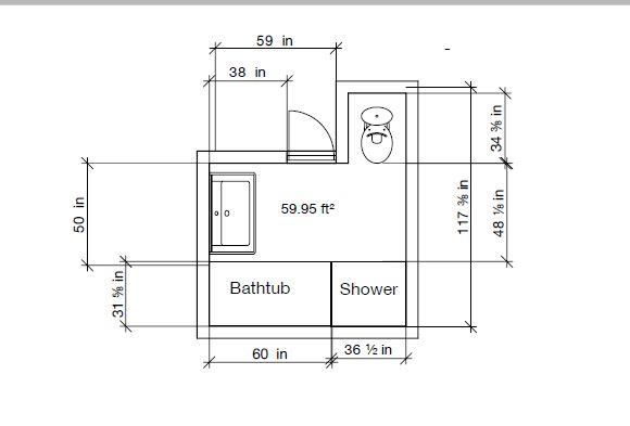 238 bathroom upstairs