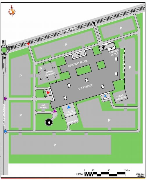 map-of-hospital-site