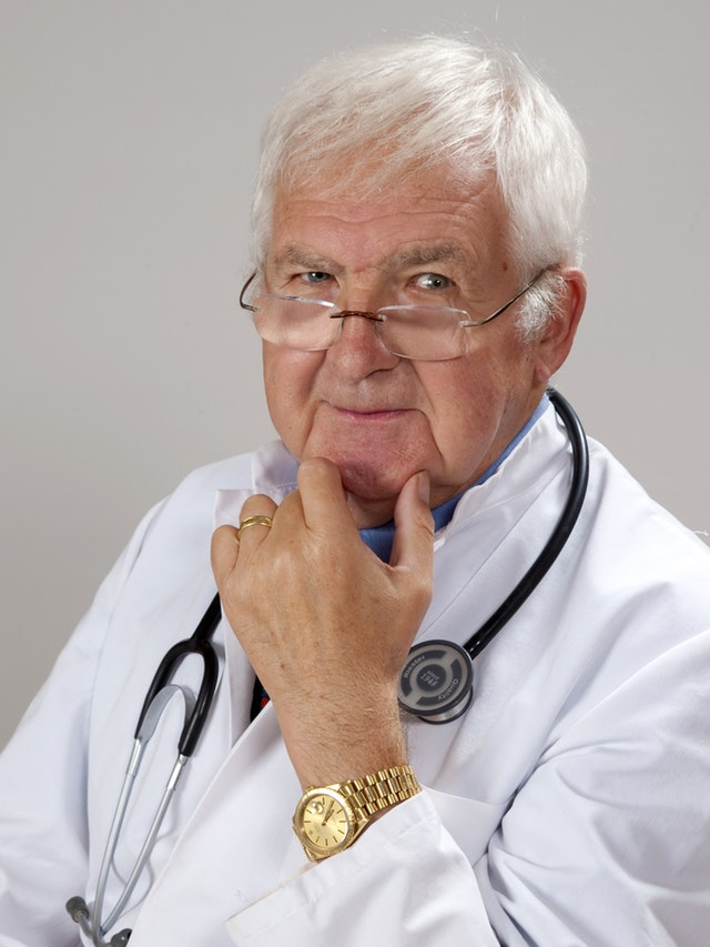 headshot of a physician