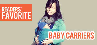 Readers' favorite baby carriers