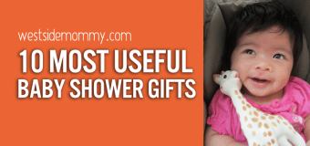 Top 10 Most Useful Baby Shower Gifts