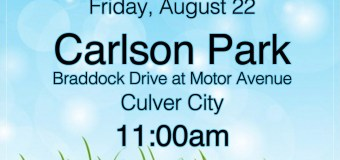 Playdate at Carlson Park, Friday August 22