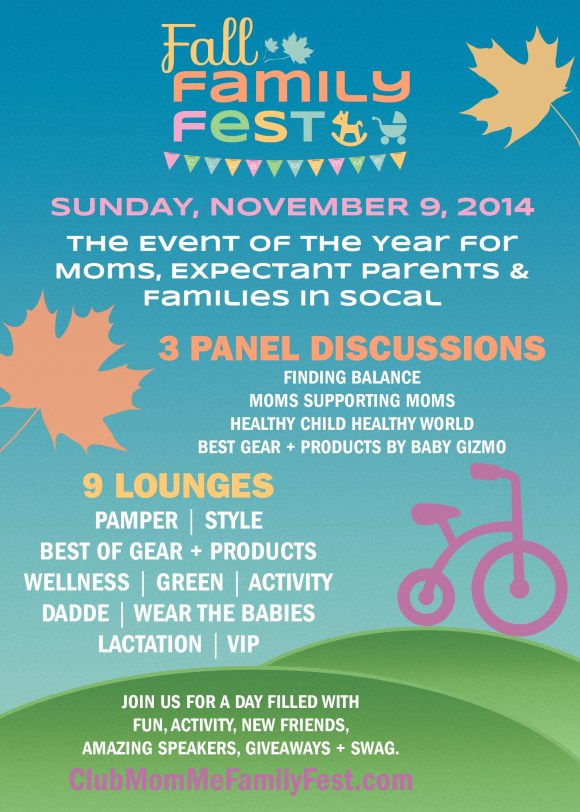 giveaway for Club MomMe's Fall Family Fest