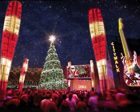 Citywalk Christmas Tree Ceremony