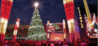 Christmas Tree lighting ceremonies in Los Angeles