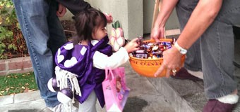 Halloween with my little Boo