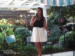 Veena Crownholm at the Media Breakfast