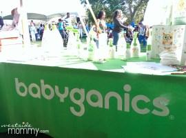 Babyganics booth