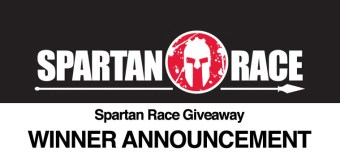 Winner of Spartan Race registration giveaway